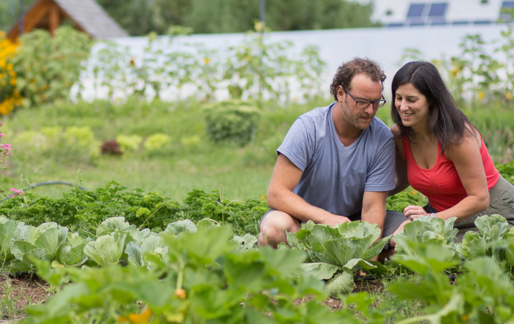 Get Closer to Your Food at This Garden